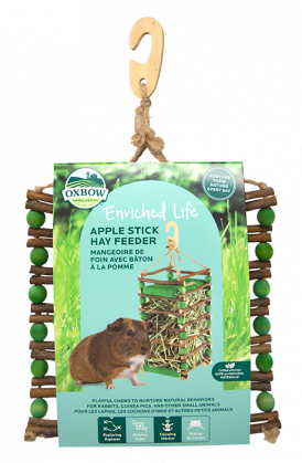 Enriched Life - Apple Stick Hay Feeder