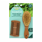 Enriched Life - Wood Brush & Comb