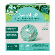 Enriched Life - 2-in-1 Fitness Ball
