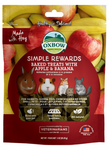 Simple Rewards Baked Treats with Apple & Banana