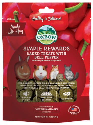 Simple Rewards Baked Treats with Bell Pepper