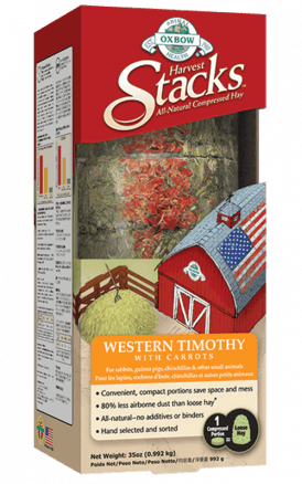 Harvest Stacks – Western Timothy with Carrots