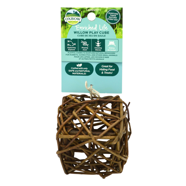 Enriched Life - Willow Play Cube