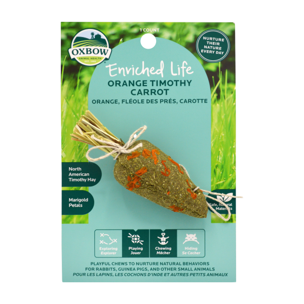 Enriched Life - Orange Timothy Carrot