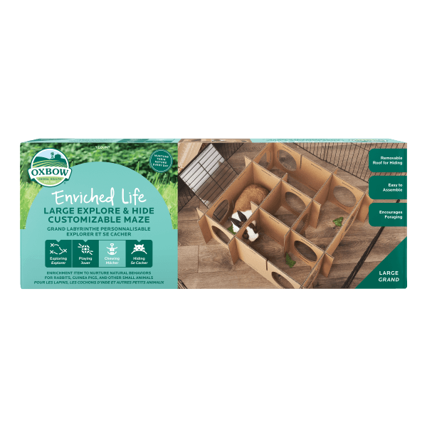 Enriched Life - Explore & Hide Customizable Maze (Large)