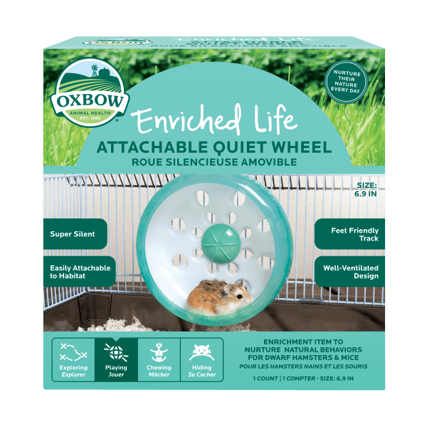 Enriched Life - Attachable Quiet Wheel