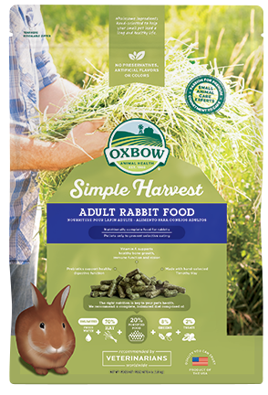 Simple Harvest Adult Rabbit Food